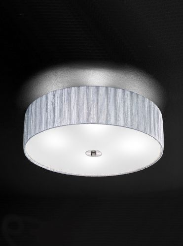 Franklite FL2283/4 Satin Nickel Ceiling Light